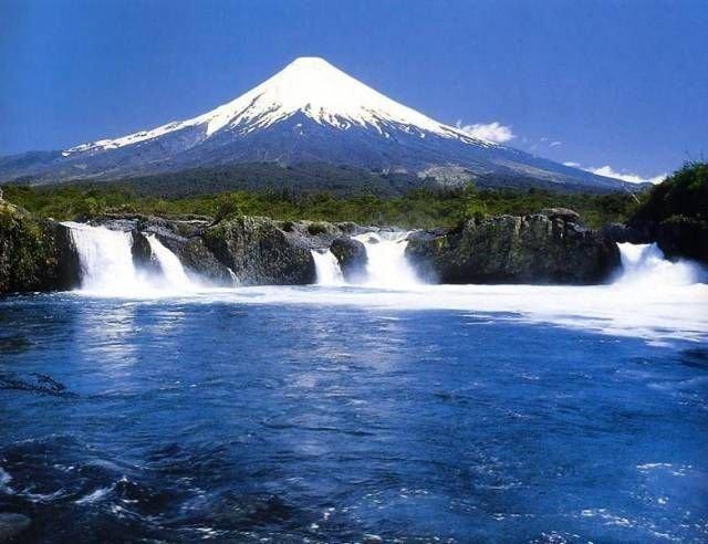 los lagos en chile: