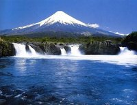 Osorno Volcano, Cerro Azul (Chile volcano) photo