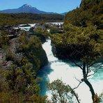 Petrohue Chile Patagonia, Cerro Azul (Chile volcano)