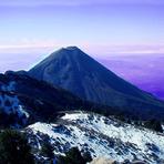 Very near the volcano of fire, Nevado de Colima