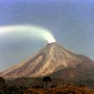 Actived volcano El colima
