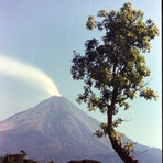 The Colima Volcano of Fire, Nevado de Colima