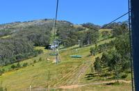 Thredbo Chairlift, Mount Kosciusko photo