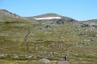 Mt Kosciuszko track, Mount Kosciusko photo
