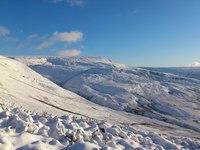 Winter wonderland, Bleaklow photo