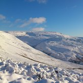 Winter wonderland, Bleaklow