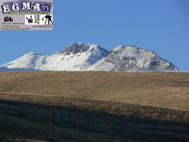 Ascending to the south summit of Mt.Aragats, Mount Aragats