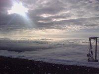 Πίσω από τον αναβατήρα Άρτεμις στο Χιονοδρομικό Κέντρο Καλαβρύτων σε υψόμετρο 2020 μέτρων !!!, Helmos photo
