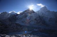 Sunrise from the summit of Everest, Mount Everest photo