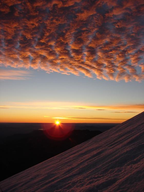 Grupo de Montaña Chachil Zapala, Volcan Lanin