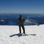 Cumbre.... lo mejor del paisaje..., Volcan Lanin