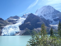 Berg Lake, Berg Glacier and Mt. Robson, Mount Robson photo