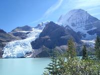 Berg Lake, Berg Glacier and Mt. Robson, Mount Robson photo