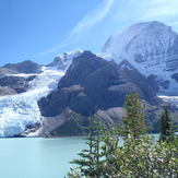 Berg Lake, Berg Glacier and Mt. Robson, Mount Robson