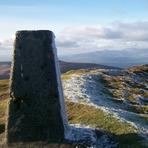 Knockmealdown summit looking towards Sugarloaf.