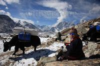 Khumbu Glacier, Khumbutse photo