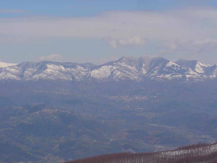 mount gelbison, Monte Gelbison