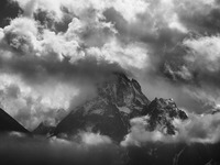 September storm hits Monviso photo