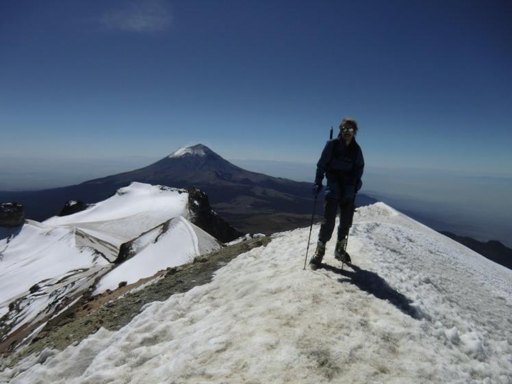 On the true summit of Ixta 31/10/11, Iztaccihuatl
