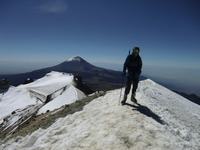 On the true summit of Ixta 31/10/11, Iztaccihuatl photo
