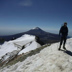 On the true summit of Ixta 31/10/11, Iztaccihuatl
