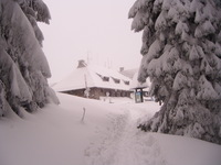 Mountain Hut On Turbacz photo