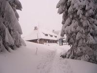 Mountain Hut On Turbacz photo