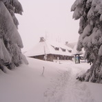 Mountain Hut On Turbacz