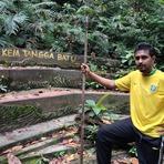 resting spot, Gunung Angsi