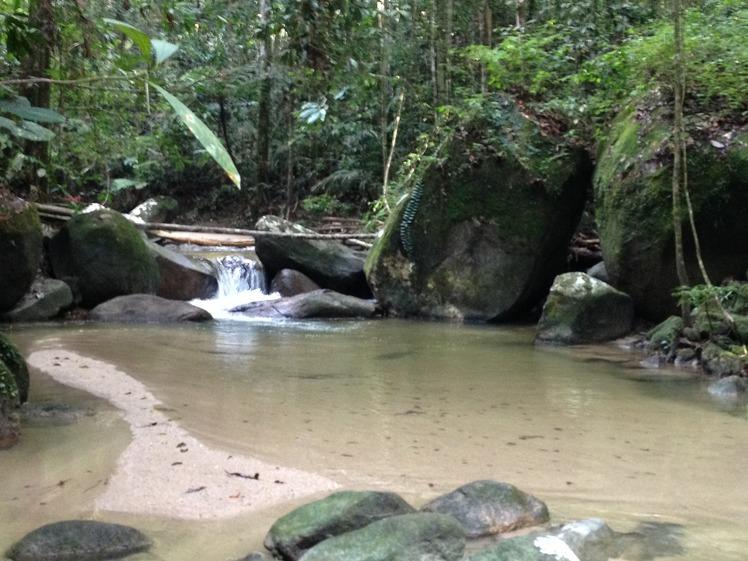 River, Gunung Angsi