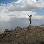 On Head Of Ancient Binalud, Mount Binalud