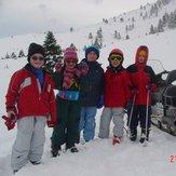 Μελλοντικά μέλη των ''LOP3 ROCKERS'' στο Χιονοδρομικό Κέντρο Καλαβρύτων περίπου 3 χρόνια πριν την επίσημη ίδρυση της αθλητικής-χειμερινής ομάδας., Helmos