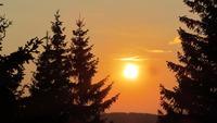 Sunset, Golija photo