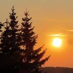 Sunset, Golija