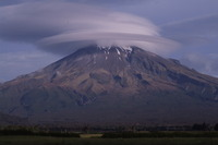 wind cloud, Mount Egmont/Taranaki photo