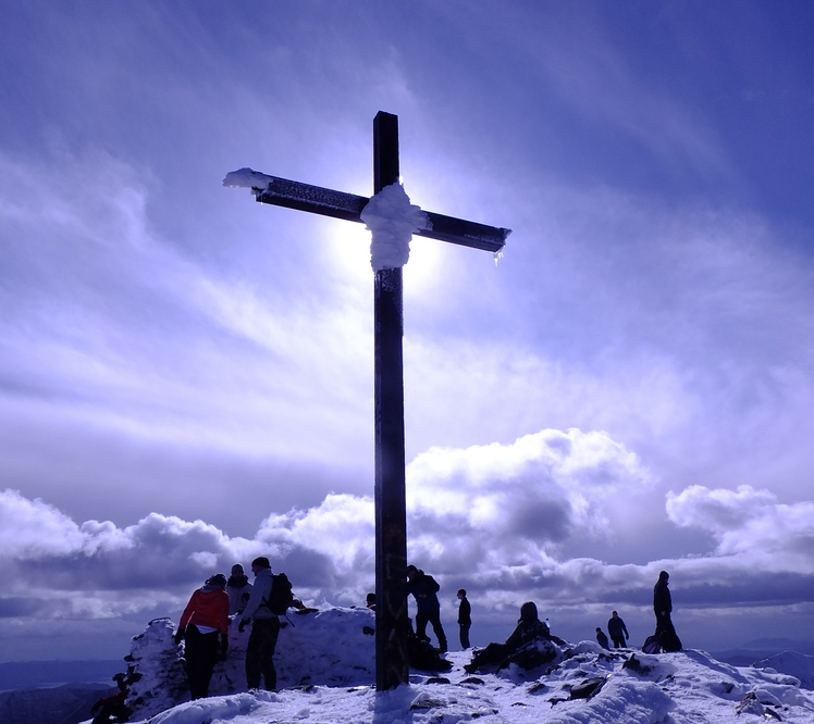 Summit of Carrauntoohil 16-3-13