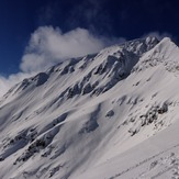 Todorka peak in winter.