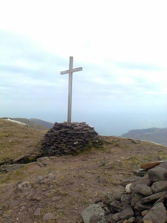 Brandon summit cross, Brandon Mountain