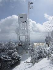 Tower on top of Killington Peak photo