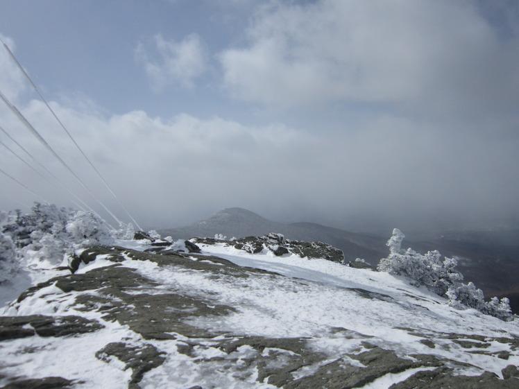 Top of Killingtion Peak, Killington Peak