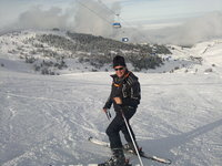*Freeskier* on Uludag Turkey photo