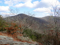 Brasstown Bald from Arkarqua Trail in Winter photo