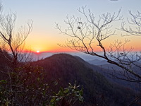 Sunset From The Arkarqua Trail, Brasstown Bald photo