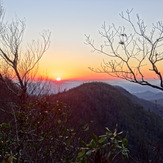 Sunset From The Arkarqua Trail, Brasstown Bald