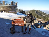 Mount Mitchell Summit in Winter, Mount Mitchell (North Carolina) photo
