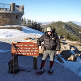Mount Mitchell Summit in Winter, Mount Mitchell (North Carolina)