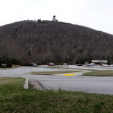 Brasstown Bald Summit Area and Parking Area