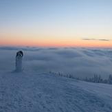 Morning  on Kralicky Sneznik, Králický Sněžník