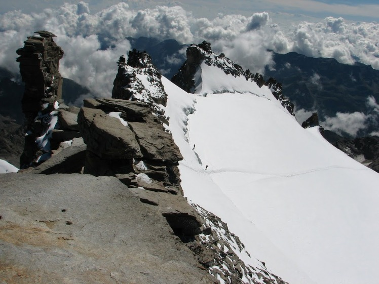 View from top, Gran Paradiso
