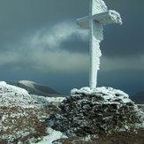 Mount Brandon on a cold day, Brandon Mountain